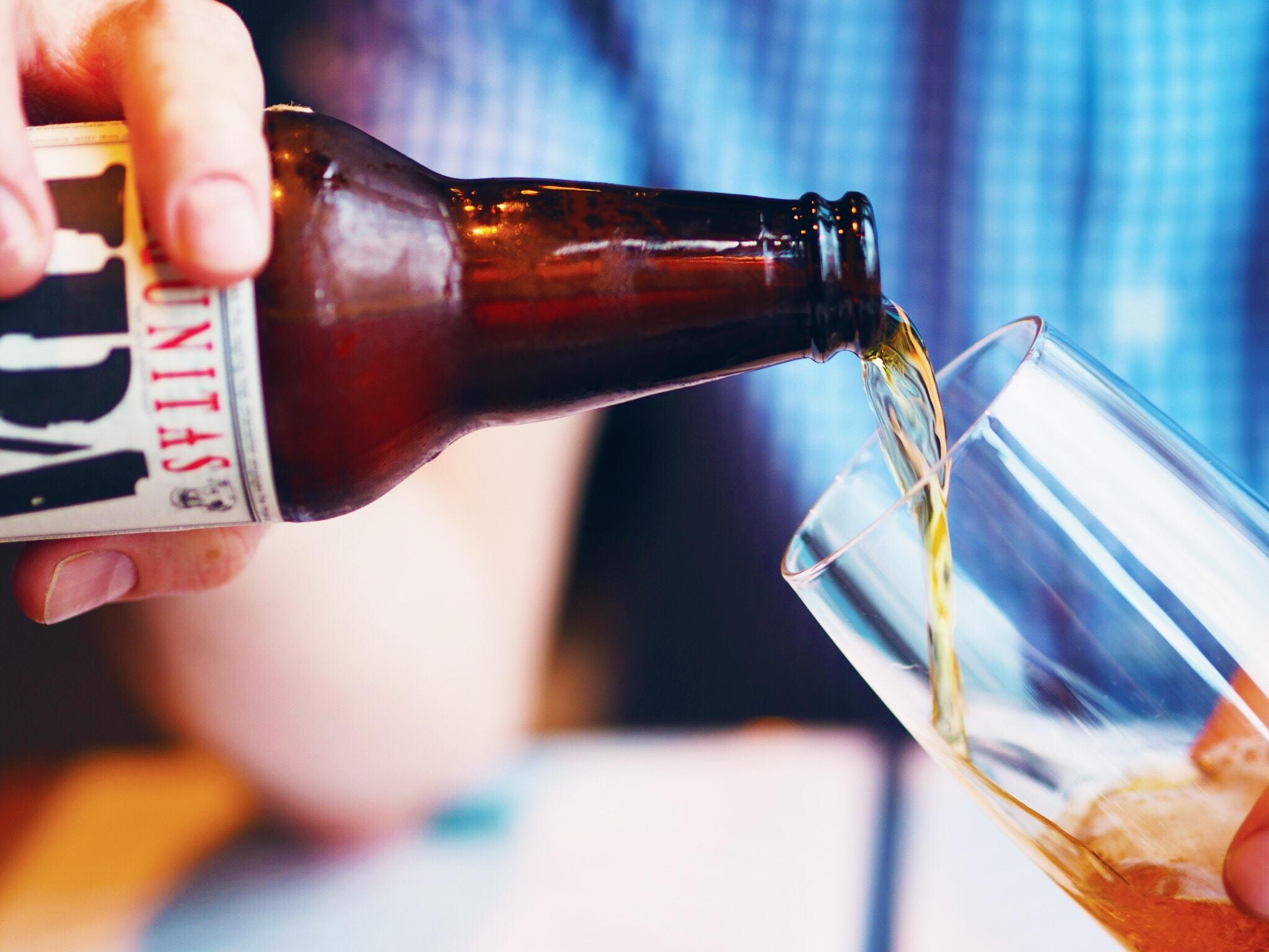 Servering af øl